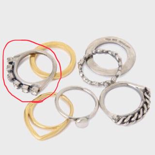 イオッセリアーニ(IOSSELLIANI)のイオッセリアーニ★イル・ロック リング ストーンのもの1点(リング(指輪))