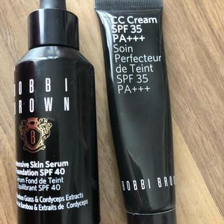 BOBBI BROWN - ボビイブラウンリキットファンデとccクリームのセット