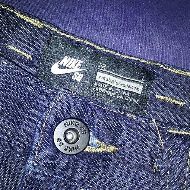 NIKE(ナイキ)のNIKE SB インディゴデニム 32 メンズのパンツ(デニム/ジーンズ)の商品写真