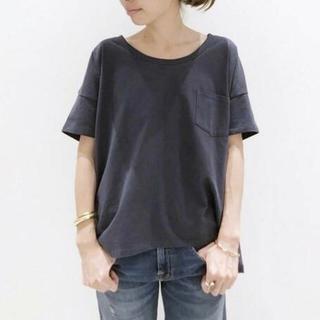 L'Appartement DEUXIEME CLASSE - 美品 Wide Tシャツ☆ブルー