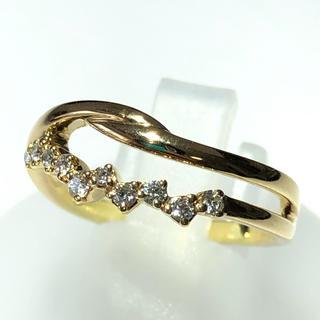 ヨンドシー(4℃)のリング 指輪 4°C ダイヤモンド ヨンドシー k18yg イエローゴールド(リング(指輪))