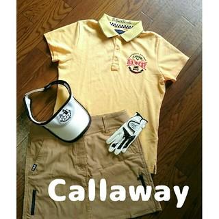 Callaway Golf - 新品 キャロウェイ レディース ポロシャツ