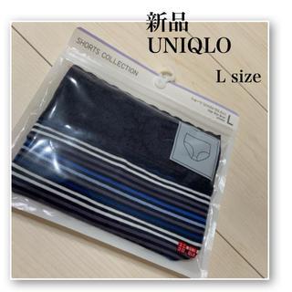 UNIQLO - 新品♡UNIQLO♡ショーツ♡ジャストウエスト♡ネイビー♡紺♡ボーダー