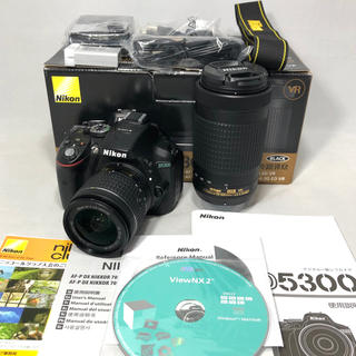Nikon - Nikon ニコン D5300 AF-P ダブルズームKIT  美品
