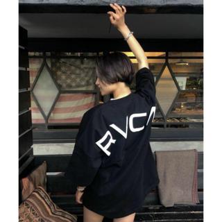 RVCA - ルーカ バックロゴ アーチロゴ 黒 RVCA ❤︎ ❤︎