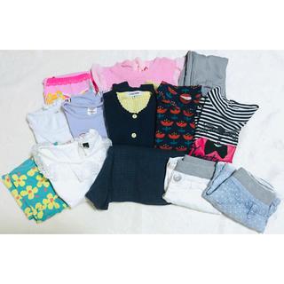 GLOBAL WORK - 女の子 子供服  100〜110cm まとめ売り 14点セット グローバルワーク
