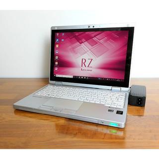 Panasonic - 超軽量10.1型レッツノート WUXGA SSD 2in1 No.343