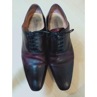 INTERESSA  革靴 24.5cm ビジネスシューズ(ドレス/ビジネス)