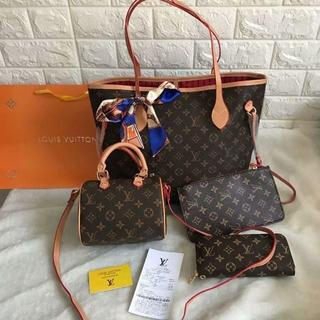 LOUIS VUITTON - 4点セット トートバッグ ショルダーバッグ ポーチ 財布