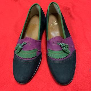 新品 メンズ 靴 ローファー スエード(ローファー/革靴)