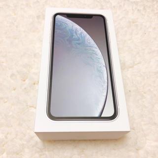 Apple - 新品 Apple iphone XR 64Gb本体 ホワイト simロック解除済
