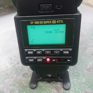 SIGMA - シグマEF-500 DG  super  EO-ETTL