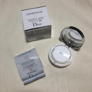 ディオール(Dior)のディオール スノー パーフェクト ライト クッション 010(ファンデーション)
