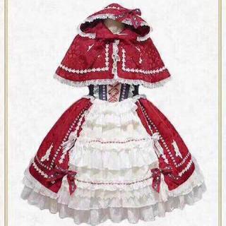 BABY,THE STARS SHINE BRIGHT - おとぎの国の赤ずきんちゃんジャンパースカート 4点セット