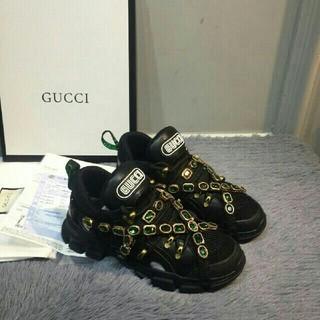 Gucci - Gucci グッチ スニーカー triple-s 42cm