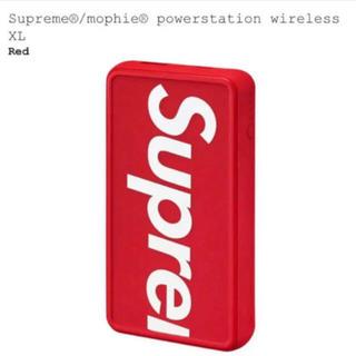 シュプリーム(Supreme)の Supreme mophie powerstation wireless XL(バッテリー/充電器)