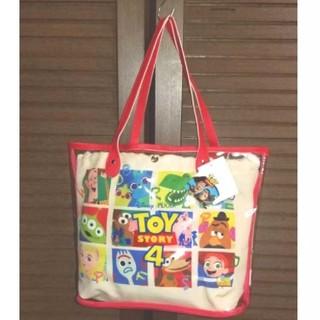 トイ・ストーリー - トイストーリー4 ビニール 巾着バッグ