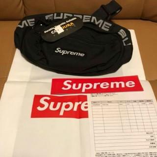 Supreme - Supreme 18ss Waist Bag ウエストバッグ  黒