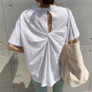 TODAYFUL - バックツイストTシャツ