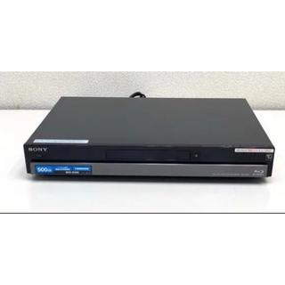 SONY - sony  ブルーレイ BDZ-RX50 500GB 2番組録画