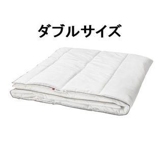 イケア(IKEA)のIKEA TILKORT 掛け布団 薄手 200cm×200cm ダブル(布団)