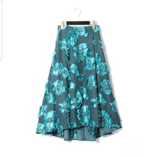 GRACE CONTINENTAL - 新品 グレースコンチネンタル フラワージャガードスカート