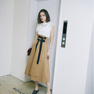 Ameri VINTAGE - アメリヴィンテージ DOUBLE TAPE BELT SKIRT