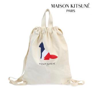 MAISON KITSUNE' - メゾンキツネ ナップサック 美品 最安値
