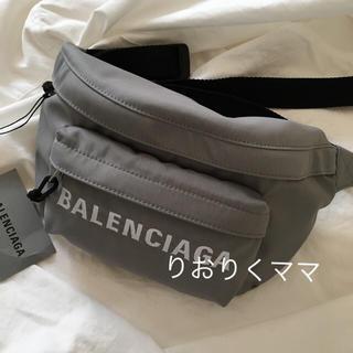 Balenciaga - 新品 バレンシアガ 新作 ベルトバッグ ウエストポーチ
