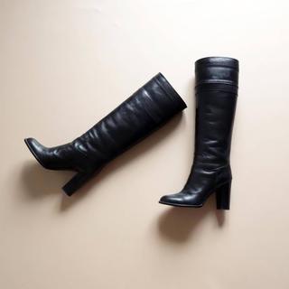 DIANA - ■ダイアナ■ 22.5 黒 ロングブーツ