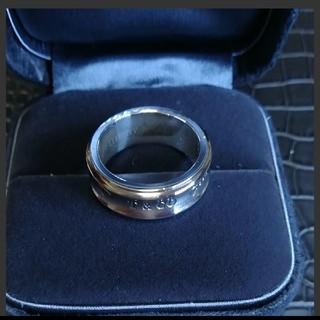 ティファニー(Tiffany & Co.)のティファニー チタンコンビリング(リング(指輪))