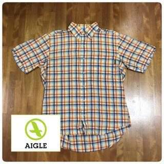 エーグル(AIGLE)の『AIGLE 涼感 ボタンダウンシャツ 』(シャツ)