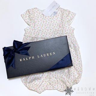 Ralph Lauren - 新品 ラルフローレン 6M/70 小花柄ショートオール
