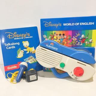 Disney - 【美品!】2005年購入!ディズニー英語システム 両面デジタルトークアロング