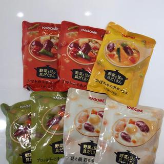 カゴメ(KAGOME)のカゴメ 野菜と豆の具沢山ポタージュ スープ(インスタント食品)
