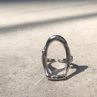 トゥデイフル(TODAYFUL)のシルバー925 ビックサークルリング silver925 リング(リング(指輪))