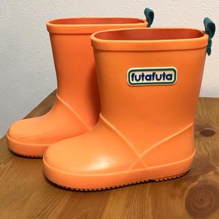 フタフタ(futafuta)のfutafuta フタフタ 14cm  長靴 レインブーツ オレンジ(長靴/レインシューズ)