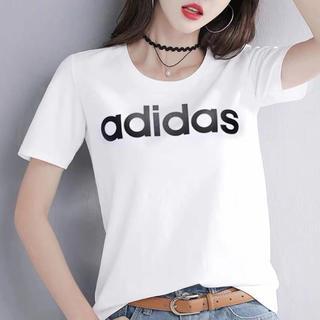 adidas - adidasTシャツ     新品レディース
