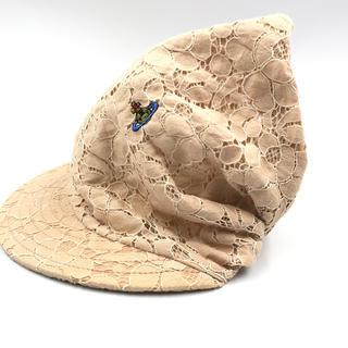 ヴィヴィアンウエストウッド(Vivienne Westwood)のヴィヴィアン ウエストウッド/RED LABELの帽子★Mレース地(その他)