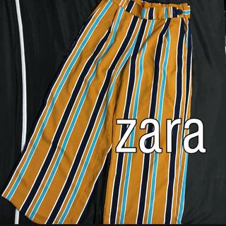 ZARA - zara ワイドパンツ