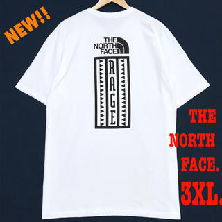 THE NORTH FACE - 3XL相当 新品 ノースフェイス RAGE ヘビーウェイト Tシャツ 白