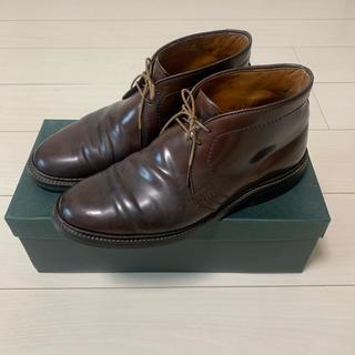 オールデン(Alden)のALDEN 1339 チャッカブーツ コードバン #8 バーガンディ(ブーツ)