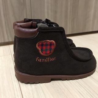 ファミリア(familiar)のファミリア ショートブーツ15センチブラウン(ブーツ)