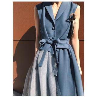 Ameri VINTAGE - TULLE DOCKING DRESS