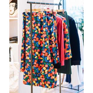 ケイタマルヤマ(KEITA MARUYAMA TOKYO PARIS)のケイタマルヤマ 宝石柄スカート(ひざ丈スカート)