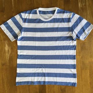 ユニクロ(UNIQLO)の中古 UNIQLO ボーダーTシャツ(Tシャツ/カットソー(半袖/袖なし))