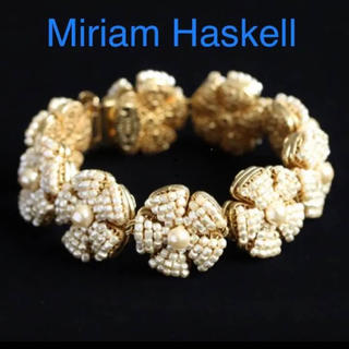 バーニーズニューヨーク(BARNEYS NEW YORK)の【美品】Miriam Haskell(ミリアムハスケル)ブレスレット(ブレスレット/バングル)