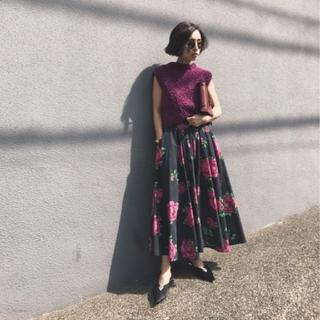 アメリヴィンテージ(Ameri VINTAGE)のAmeri【新品】ルーシー サーキュラースカート(ロングスカート)