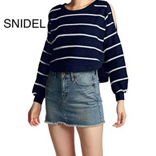 スナイデル(snidel)の SNIDEL(Tシャツ(長袖/七分))