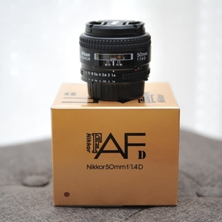 Nikon - Nikon AF NIKKOR 50mmf1.4D
